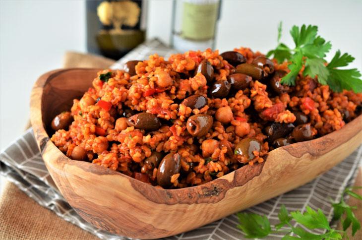 Bulgur Turcesc cu legume