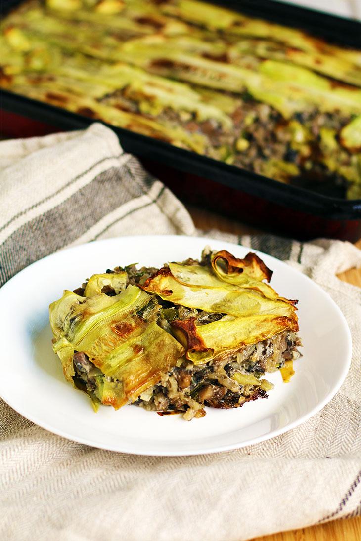 Zucchini Casserole vegan