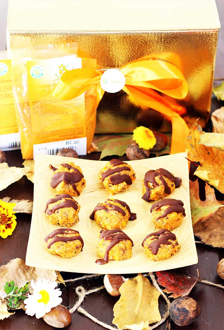 Immunity booster Truffles recipes with turmeric