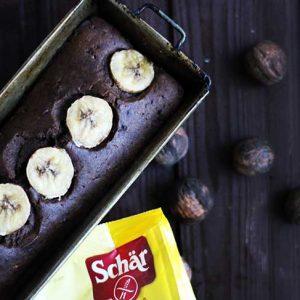 Vegan Chocolate Banana Bread Chec Vegan cu Ciocolata si Banane