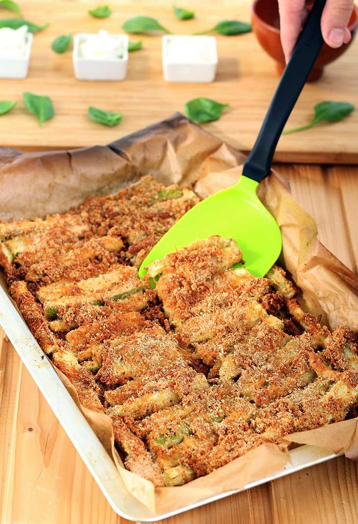 crispy zucchini fries zucchini sticks