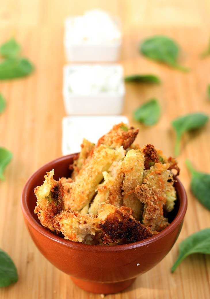 Vegan Zucchini Recipes fries