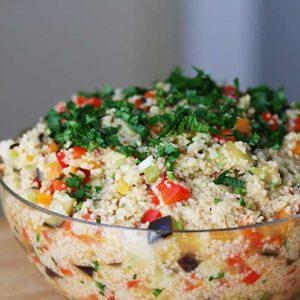 couscous salad salata de cuscus reteta