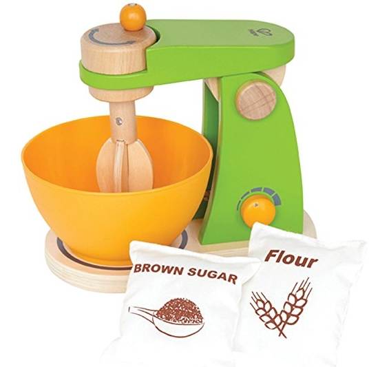 Mixer Wooden Play Kitchen Set with Accessories Best Cooking Toys