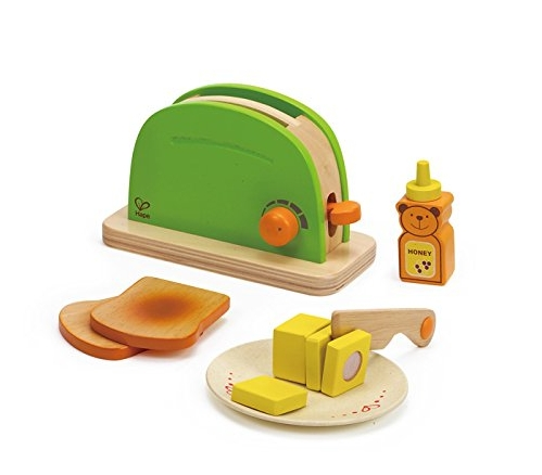 Toaster Wooden Play Kitchen Set with Accessories Best Cooking Toys