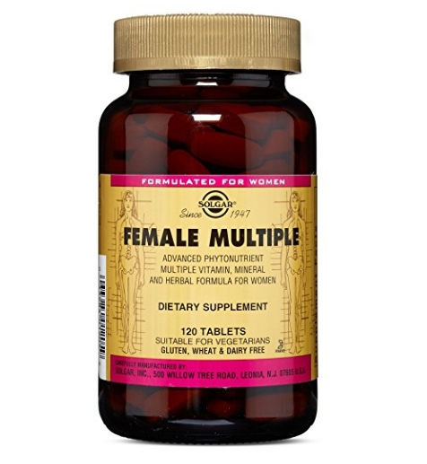 Solgar - Female Multiple Tablets how to boost your immune system