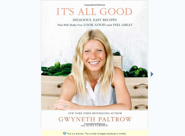 It's All Good - by Gwyneth Paltrow and Julia Turshen