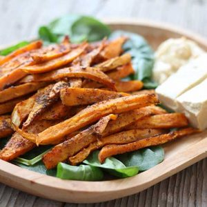 sweet potato fries recipe cartofi dulci pai