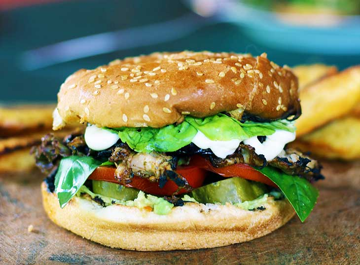 vegan chicken burger vegan diet