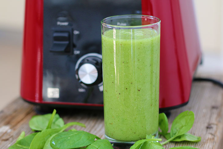 tropical green smoothie exotic verde raw