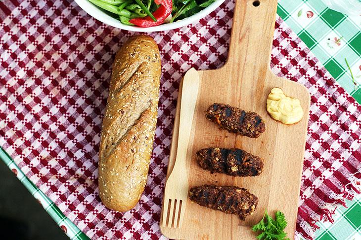 vegan minced meat rolls recipe