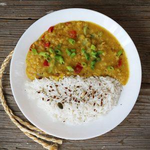 zucchini dal indian mancare de linte cu dovlecel
