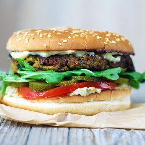 Eggplant burger cu vinete reteta