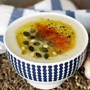 cauliflower soup recipe supa crema de conopida