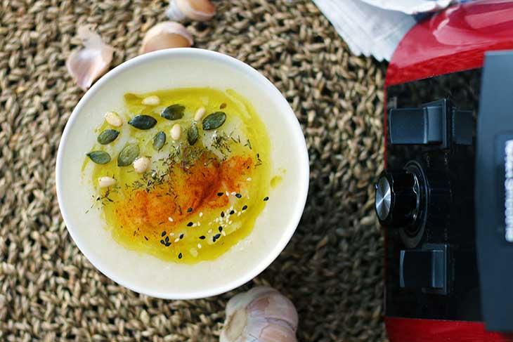 cauliflower soup recipe vegan