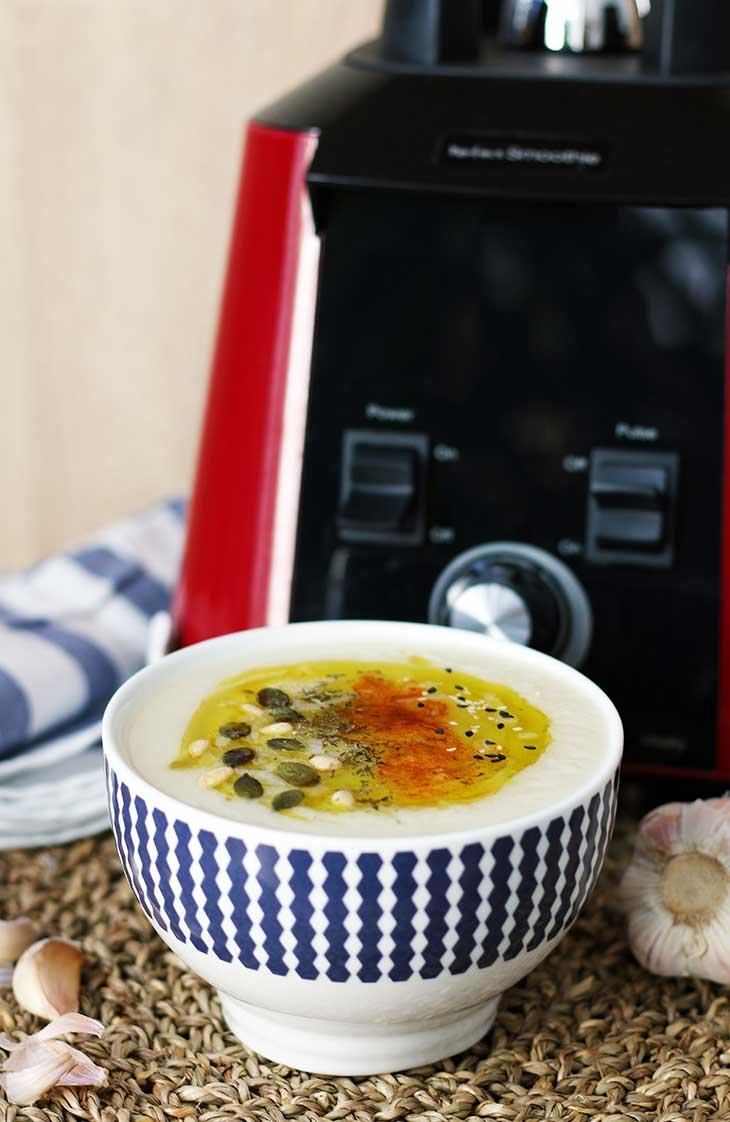 cauliflower soup vegan