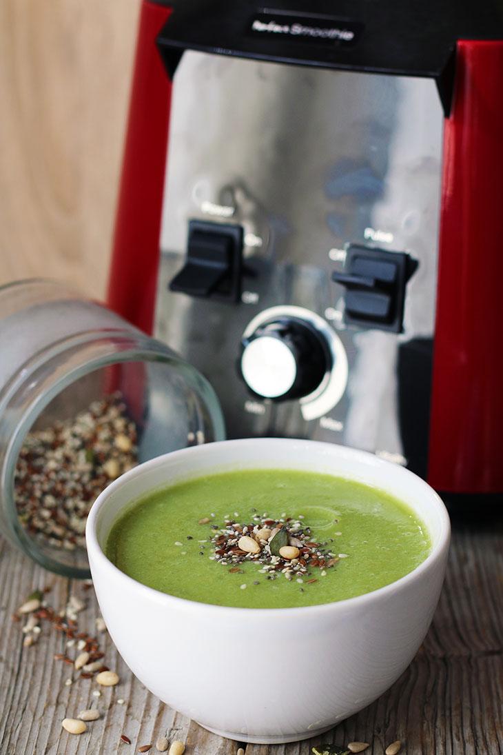 cream of broccoli soup supa crema de broccoli