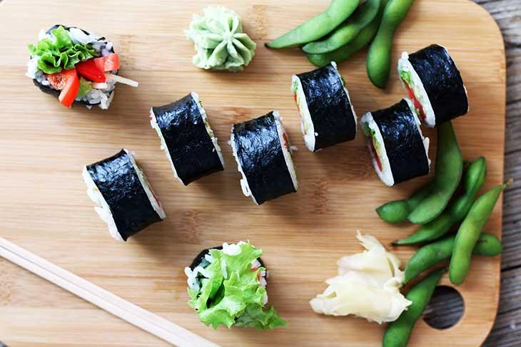 easy how to make vegan sushi vegetarian cum sa faci sushi