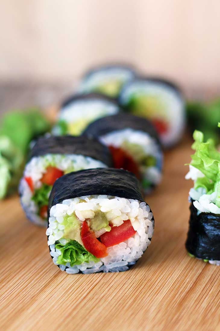 how to make vegan sushi vegetarian