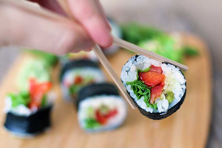 how to make vegan sushi vegetarian cum sa faci sushi