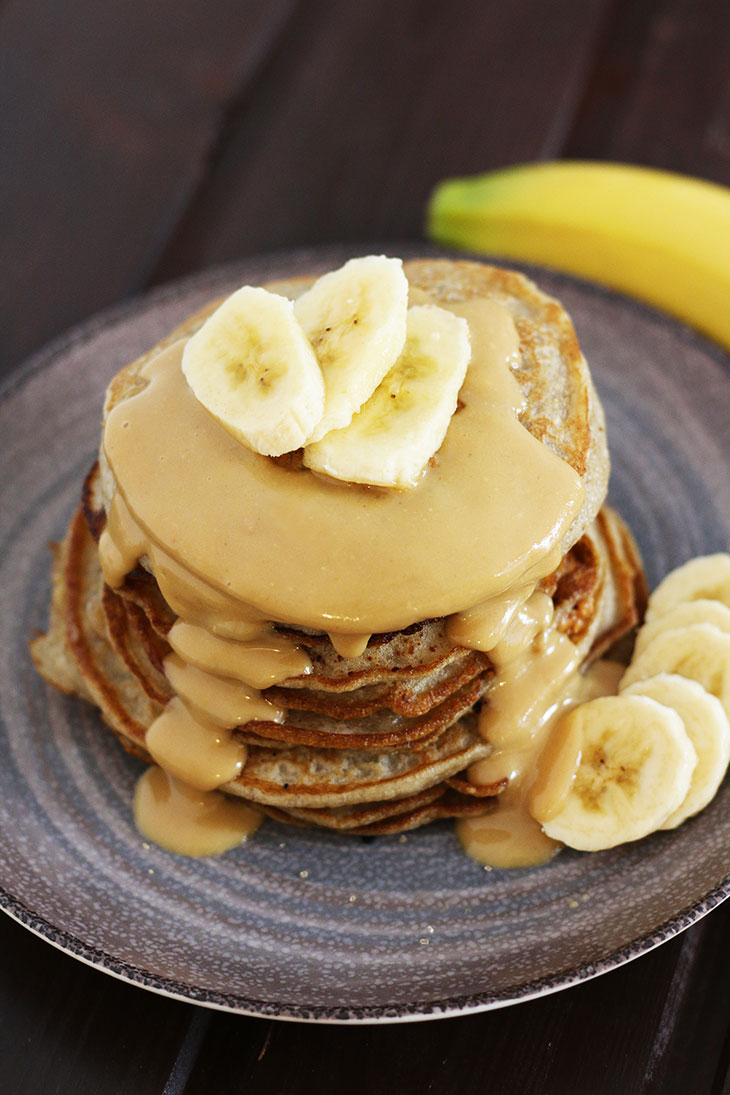 vegan peanut butter pancakes Best Banana Pancakes Without Eggs