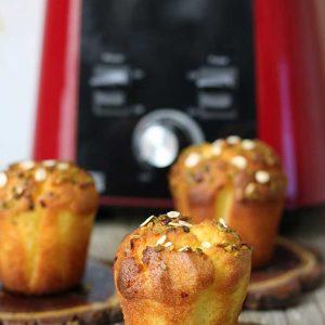 vegan pumpkin muffins briose cu dovleac