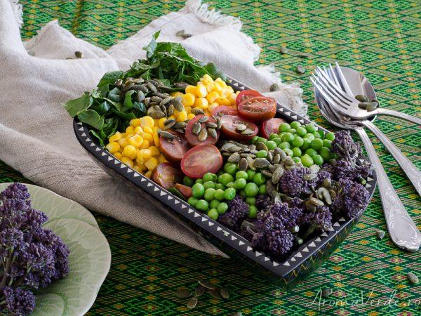 Salată-cu-broccolini