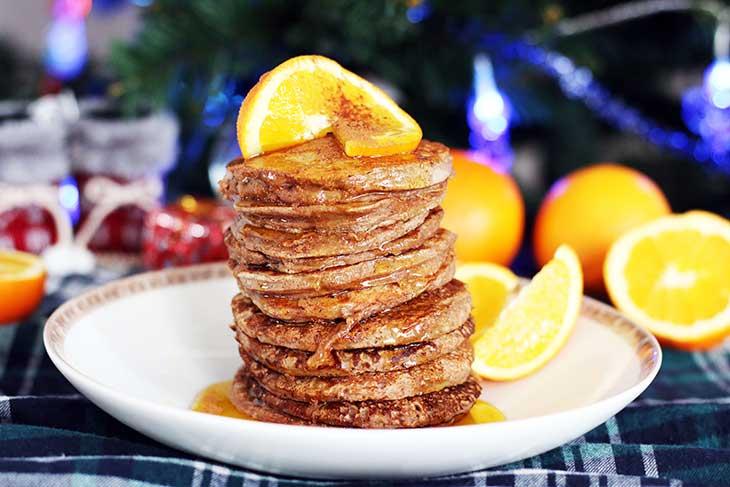 gingerbread pancakes recipe clatite cu aroma de turta dulce