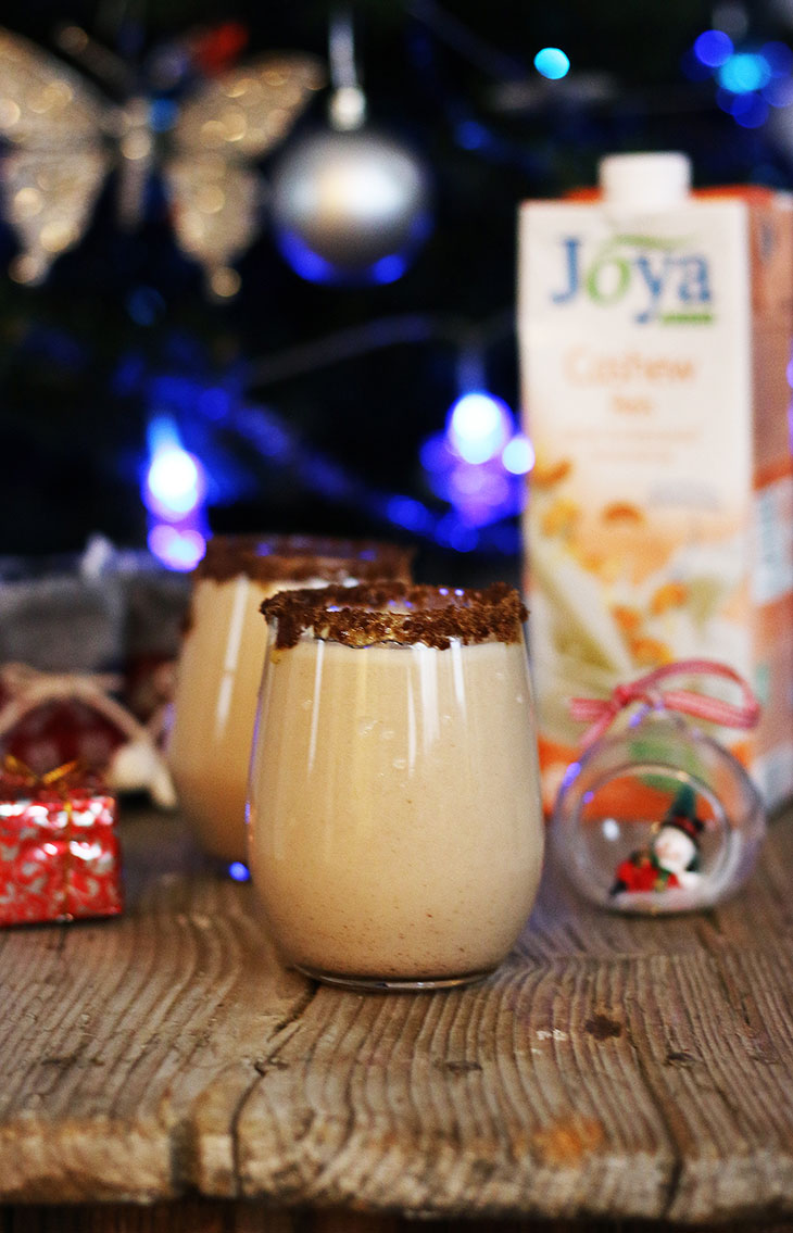 how to make vegan eggnog recipe