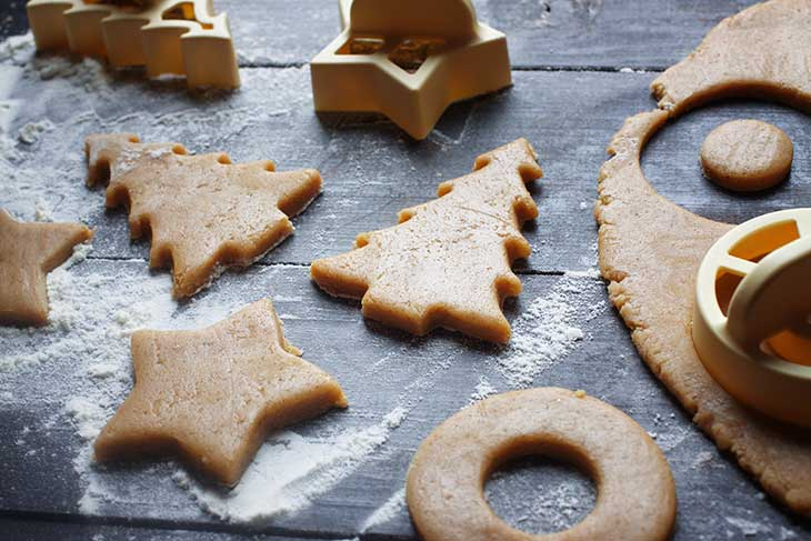 vegan gingerbread cookies turta dulce vegana