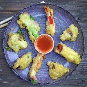 Easy Vegetarian Tempura cu legume reteta