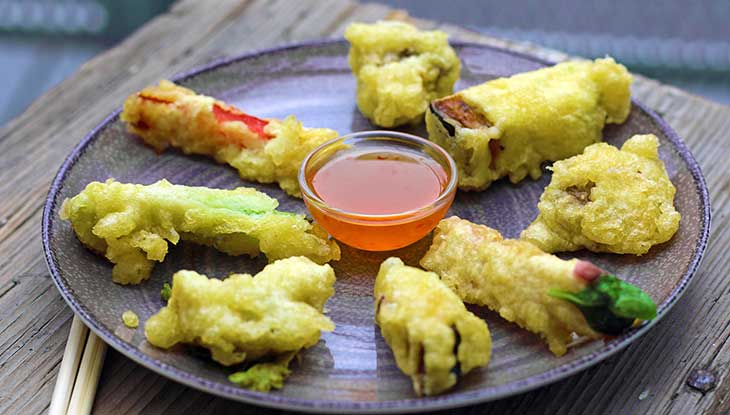 Easy Vegetarian vegan Tempura