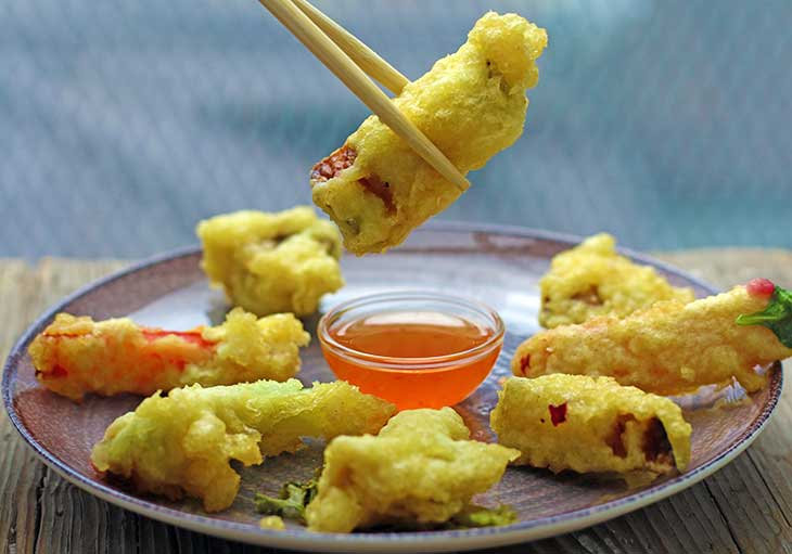 recipe Easy Vegetarian vegetable Tempura