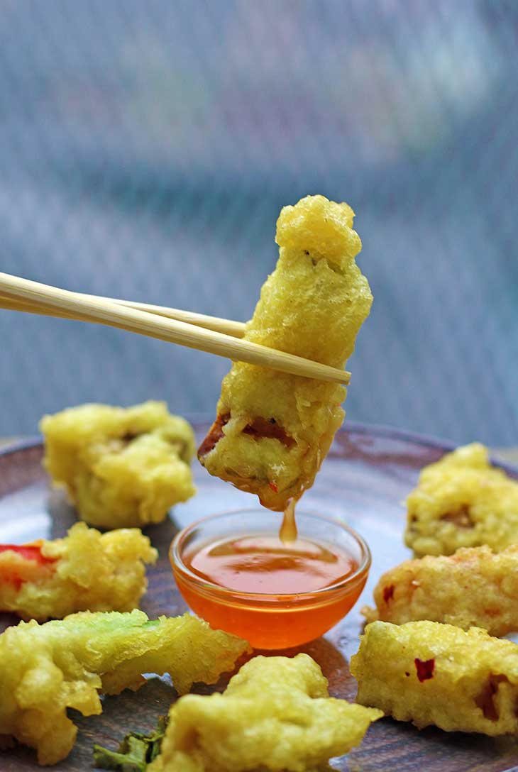 recipe Easy vegan Vegetarian Tempura
