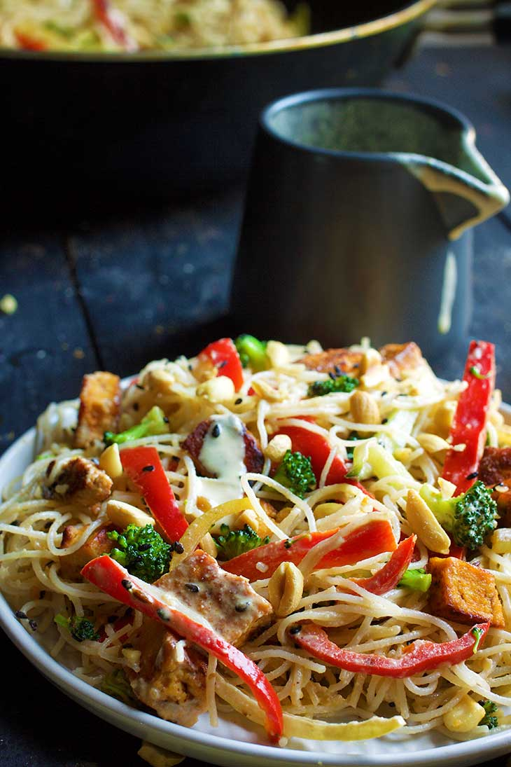 recipe thai peanut noodles
