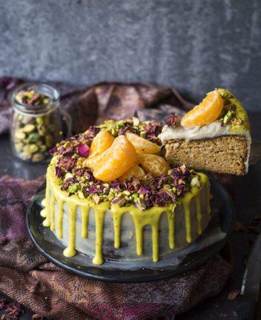 rainbow nourishments flourless mandarin almond cake