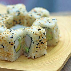 vegan californian maki tofu sushi cu tofu avocado