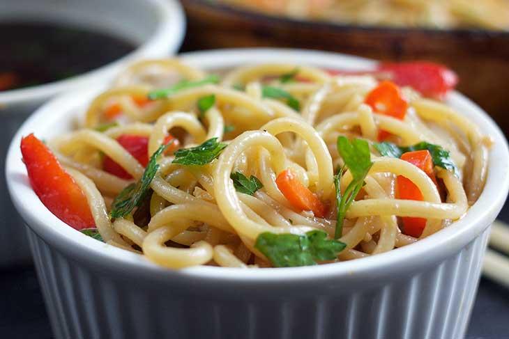 vegan lo mein chow mein recipe