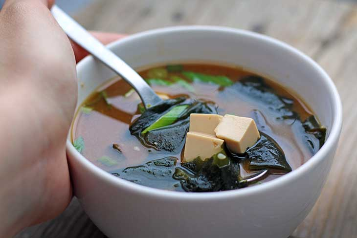 vegan miso soup easy recipe