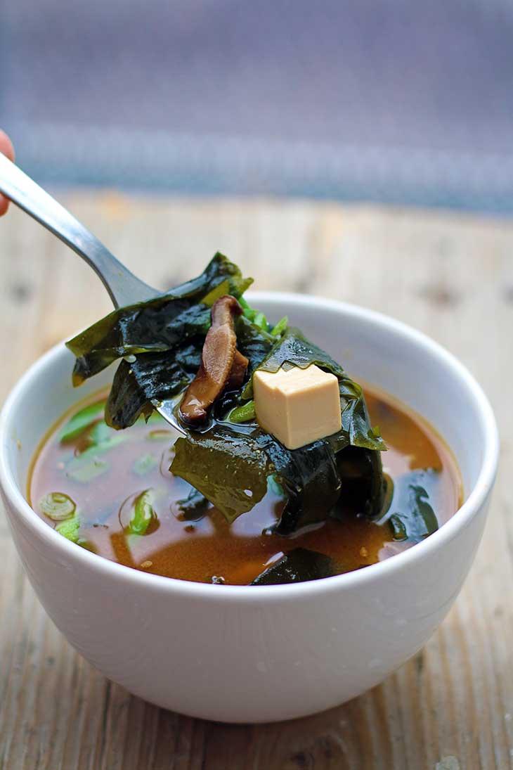 Supa Miso cu Tofu si Wakame reteta