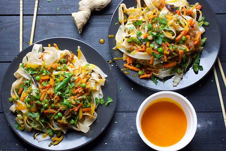 vegan pad thai reteta