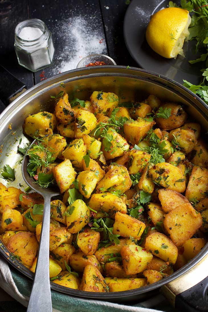 Batata Harra Spicy Roasted Potatoes