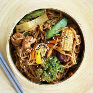 Vegan Stir-Fry recipe stir-fry reteta vegetarian