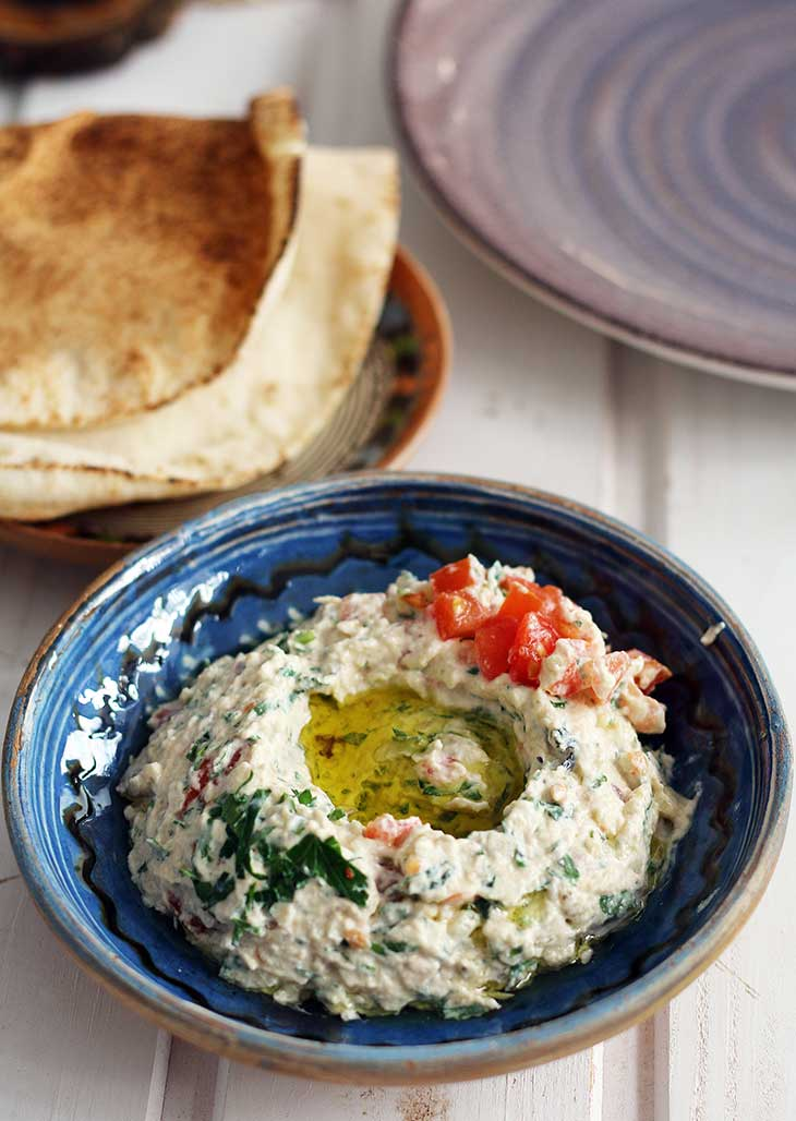 baba ganoush lebanese recipe