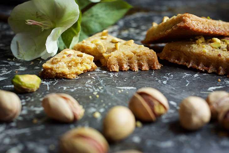 cookies pistachios