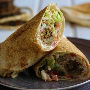 falafel wrap recipe falafel la lipie