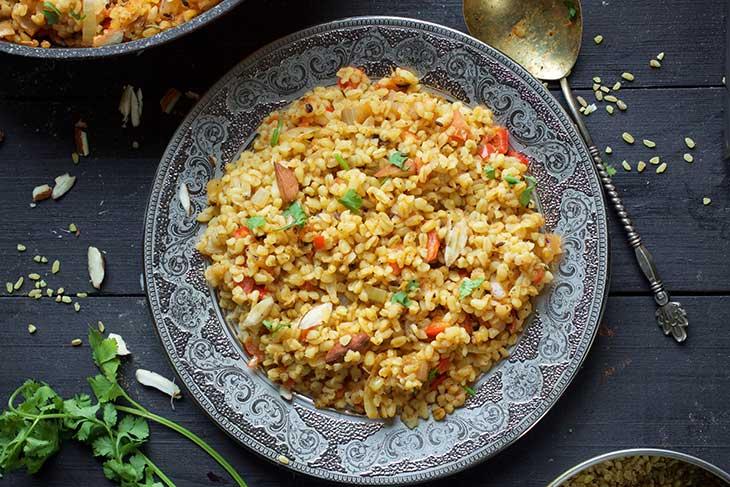 recipe bulgur pilaf turcesc cu bulgur