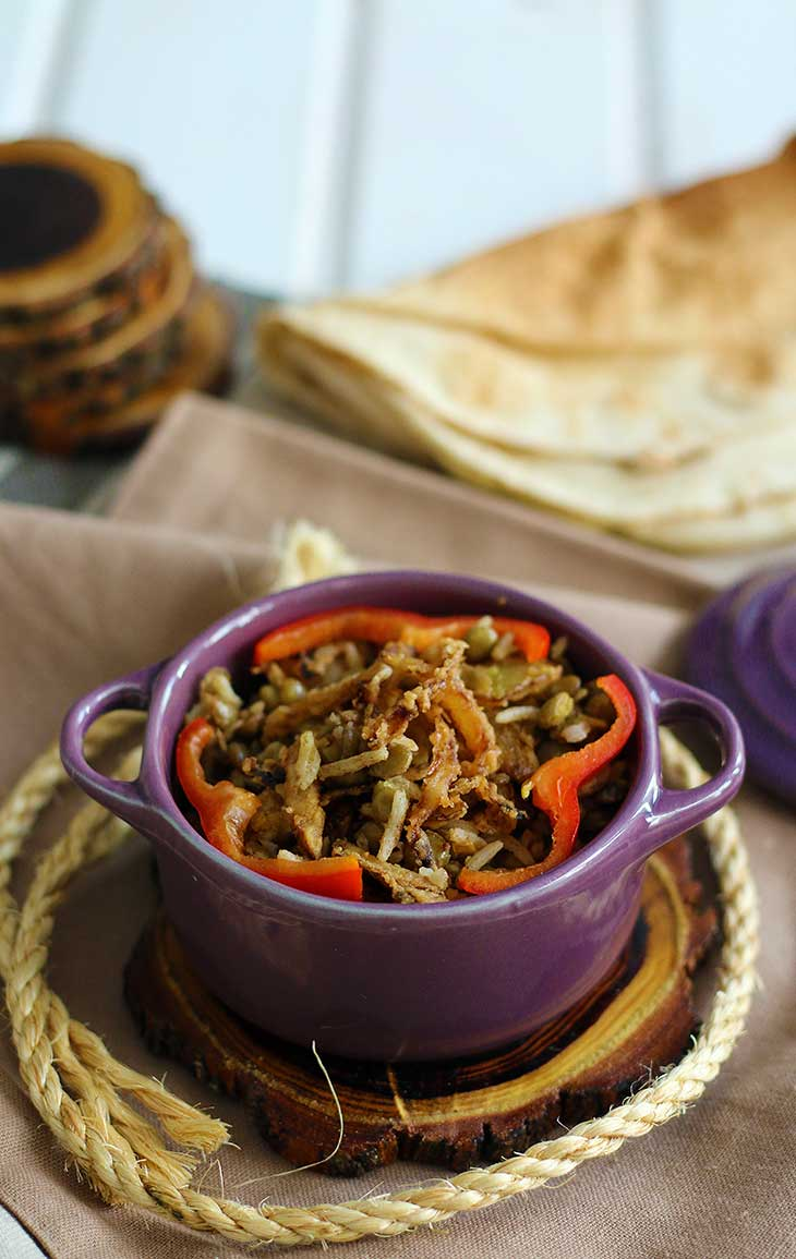 reteta moudardara lebanese lentils with rice recipe