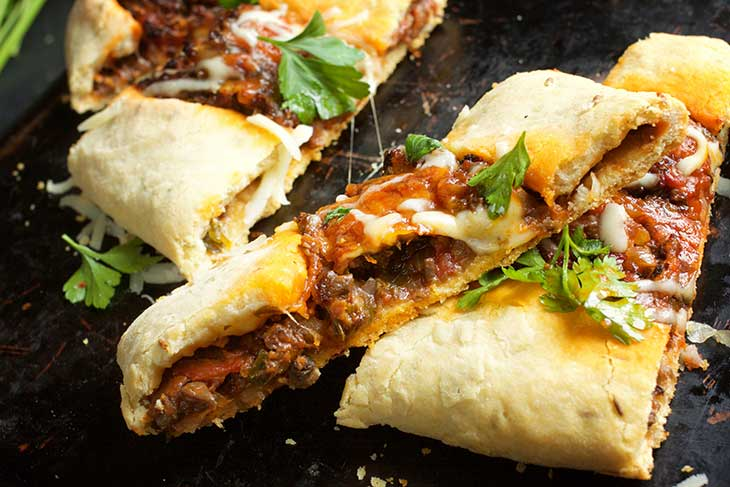 turkish pide stuffed flatbread