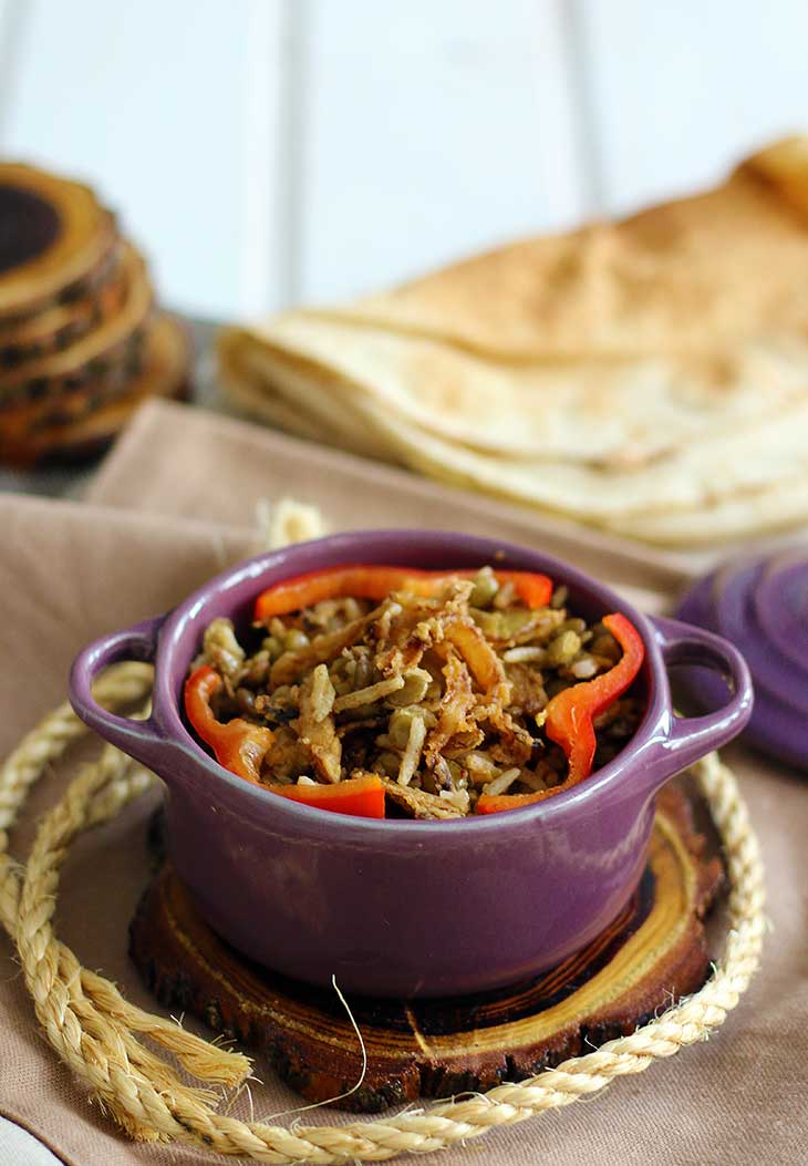 vegan moudardara lebanese lentils with rice recipe